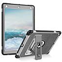 economico Adesivi da parete-BENTOBEN Custodia Per Apple iPad (2018) / iPad (2017) Resistente agli urti / Con supporto Integrale Tinta unita Morbido pelle sintetica / TPU / PC per iPad (2018) / iPad Air 2 / iPad (2017)