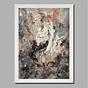 povoljno Apstraktno slikarstvo-Hang oslikana uljanim bojama Ručno oslikana - Sažetak Pejzaž Comtemporary Moderna Uključi Unutarnji okvir / Valjani platno / Prošireni platno