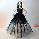 cheap Finger Toys-Party/Evening Dresses For Barbie Doll Polyester Dress For Girl's Doll Toy