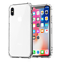 cheap iPhone Cases-Case For Apple iPhone XR XS XS Max Shockproof / Transparent Back Cover Solid Colored Soft TPU for iPhone X 8 8 Plus 7 7plus 6s 6s Plus SE 5 5S