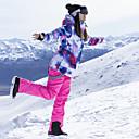povoljno Skijaška i snowboard odjeća-ARCTIC QUEEN Žene Skijaška jakna i hlače Vjetronepropusnost Toplo Síszemüvegek Skijanje Camping & planinarenje Snowboarding POLY Neljepljivo Polyester Hlače Snježni prsluk Majice Skijaška odjeća