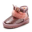 abordables Zapatos de Niña-Chico / Chica Zapatos Cuero Patentado Invierno Botas de nieve Botas Lentejuela para Niños Negro / Gris / Rosa