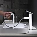 povoljno Slavine za umivaonik-Kupaonica Sudoper pipa - Slavine na povlačenje / Okretljive slavine / New Design Slikano završi Munkalapra szerelhető Jedan Ručka jedna rupaBath Taps