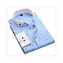 tanie Chodaki męskie-Koszula Męskie Nadruk Bawełna Szczupła - Geometryczny / Długi rękaw