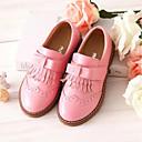 זול נעלי ילדות-בנות נעליים עור קיץ & אביב נוחות / נעליים לילדת הפרחים נעלי ספורט פרנזים ל ילדים שחור / אדום / ורוד
