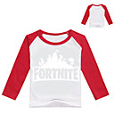 preiswerte Videospiele Cosplay Perücken-Inspiriert von Cosplay Cosplay Video Spiel Cosplay Kostüme Cosplay Tops / Bottoms / Cosplay-T-Shirt Druck / Einfarbig Langarm Top / T-shirt Halloween Kostüme