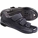 رخيصةأون ملابس التزلج-Road Bike Shoes النايلون والألياف الزجاجية،مخارج تدفق الهواء ، وعدم الانزلاق متنفس توسيد تهوية أخضر / الدراجة دراجة أبيض أسود أحذية الدراجة / خفيف جدا (UL) / شبكة قابلة للتنفس / خفيف جدا (UL)