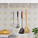 abordables Tarros y cajas-barra de cocina con cinco ganchos de almacenamiento en rack porta utensilios de cocina organización de la cocina zwj005