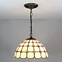billige Tiffany Lamper-Anheng Lys Omgivelseslys Malte Finishes Glass Glass Flerskjerms, Kreativ 110-120V / 220-240V