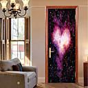 رخيصةأون ملصقات الحائط-ملصقات الباب - لواصق تجريدي / مناظر طبيعية غرفة الجلوس / غرفة النوم
