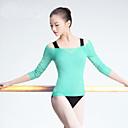 economico Abbigliamento danza classica-Danza classica Top Per donna Addestramento / Prestazioni Tulle Con ruche Manica a 3/4 Cappotto