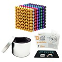 cheap Flying Gadgets-512 pcs 5mm Magnet Toy Magnetic Balls Magnet Toy Super Strong Rare-Earth Magnets Magnetic Stress and Anxiety Relief Office Desk Toys Relieves ADD, ADHD, Anxiety, Autism Novelty Adults' All Toy Gift