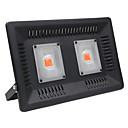 billige LED Økende Lamper-1pc 100 W 4000-4500 lm 2 LED perler Fullt Spektrum Voksende lysarmatur 85-265 V
