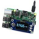 """olcso Motherboards-waveshare 128x64 1,3 """"-os oled kijelző kalap málna pi"""