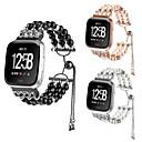 halpa Telineet ja jäähdytyslevyt-Metalliseos Watch Band Hihna varten Apple Watch Series 4/3/2/1 Musta / Valkoinen / Vaaleanpunainen 23cm / 9 Tuumaa 2.1cm / 0.83 tuumaa