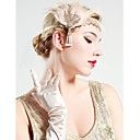 cheap Historical & Vintage Costumes-The Great Gatsby Vintage 1920s Costume Women's Flapper Headband Head Jewelry Black / Golden Vintage Cosplay Party Prom Sleeveless / Feather