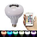 billige LED-lyspærer-brelong rgb smart bluetooth musikkpære 1 stk