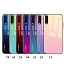 cheap iPhone Cases-Case For Huawei P20 Pro / P20 lite Mirror / Pattern Back Cover Color Gradient Hard Tempered Glass for Huawei P20 / Huawei P20 Pro / Huawei P20 lite