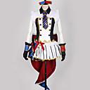 povoljno Anime kostimi-Inspirirana Ljubav uživo Kostimi sluškinje / Cosplay Anime Cosplay nošnje Japanski Cosplay Suits Kolaž / Miks boja Haljina / Rukavice / Luk Za Muškarci / Žene
