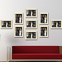 cheap Tabletop Picture Frames-Modern Contemporary Wood Painted Finishes Picture Frames, 9pcs