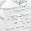 זול תיקי נשיאה-פּוֹלִיאֶסטֶר תיק נשיאה רוכסן צהוב / ורוד ורד / ורוד