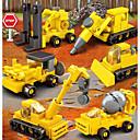 levne Building Blocks-Stavební bloky 50 pcs Zahradní motiv Armáda Loď kompatibilní Legoing Simulace Vojenské auto Policejní auto Hasiči Vše Hračky Dárek