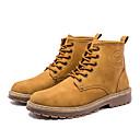 povoljno Muške čizme-Muškarci Vojničke čizme Eko koža Proljeće & Jesen Uglađeni Čizme Čizme gležnjače / do gležnja Crn / Bijela / Vanjski