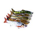 billige Fiskesnører-1 pcs Hard Agn / Sluk / Fiske Verktøy Hard Lokkemat Plastikker / Karbonstål Avtagbar / Vand resistent / Justerbar Søfisking / Agn Kasting / Spinne
