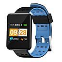 olcso Okosórák-Indear J20 Intelligens karkötő Android iOS Bluetooth Smart Sportok Vízálló Szívritmus monitorizálás Vérnyomásmérés Lépésszámláló Hívás emlékeztető Testmozgásfigyelő Alvás nyomkövető ülő Emlékeztető