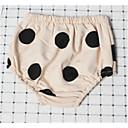 ieftine Set Îmbrăcăminte Bebeluși-Bebelus Fete De Bază Mată / Buline Fără manșon Bumbac Rochie Portocaliu 110