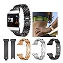 hesapli Smartwatch Bantları-Watch Band için Fitbit ionic Fitbit Spor Bantları Paslanmaz Çelik Bilek Askısı