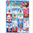 billige Ferieprodukter-Julekort og Etiketter Jul Tegneseriefigurer Dørklistremerke Smuk Rent papir Barne Alle Leketøy Gave 1*200 pcs