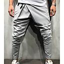 abordables Pantalons & Shorts Homme-Homme Chic de Rue Joggings Pantalon - Couleur Pleine Marine