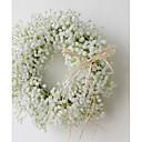 זול קישוטי חתונה-קישוטים כבל / פרחים מיובשים קישוטי חתונה חג מולד / חתונה נושאי גן / חתונה כל העונות