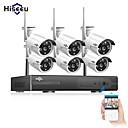 Χαμηλού Κόστους Κάμερες IP-hiseeu® 8ch ασύρματο σύστημα κάμερας cctv 6pcs 1080p wifi ip κάμερα υπαίθρια οικιακή ασφάλεια σύστημα παρακολούθησης βίντεο nvr kit