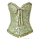 cheap Party Headpieces-Women's Lace Up Overbust Corset / Corset Set - Jacquard