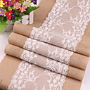 cheap Table Cloths-Contemporary Cotton Square Table Runner Solid Colored Table Decorations 1 pcs