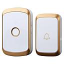 povoljno Zvono na ulaznim vratima-Factory OEM Bez žice Jedan do jedan vratar Glazba / Ding Dong Non-visual doorbell