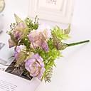preiswerte Haar Accessoires-Künstliche Blumen 2 Ast Klassisch Hochzeit Hochzeitsblumen Pfingstrosen Tisch-Blumen