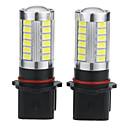 halpa Auton sumuvalot-2pcs P13W Auto Lamput 5 W 500 lm 33 LED Sumuvalot / Huomiovalot Käyttötarkoitus Universaali / Volkswagen / Toyota General Motors Kaikki vuodet