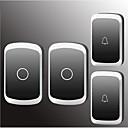 halpa Ovikamera-järjestelmät-Factory OEM Langaton Kahdesta kaksi ovikello Musiikki / Ding Dong Ei-visuaalinen ovikello