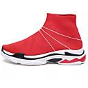 رخيصةأون أحذية رياضية نسائية-نسائي تيساج فولانت خريف & شتاء أحذية رياضية الركض كعب خفي أحمر / أسود / أحمر
