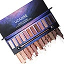 cheap Eyeshadows-12 Colors Eyeshadow / Eyeshadow Palette Daily / Cosmetic / EyeShadow Professional Level / Protection / Pro Portable Daily Makeup / Halloween Makeup / Party Makeup 1160 Cosmetic