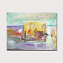 povoljno Apstraktno slikarstvo-Hang oslikana uljanim bojama Ručno oslikana - Sažetak Comtemporary Uključi Unutarnji okvir