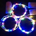 abordables Guirlandes Lumineuses LED-1m Guirlandes Lumineuses 10 LED Décorative Batteries alimentées 1 set