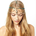cheap Steampunk-American Indian Headdress Adults' Bohemian Style Women's Green Artificial Gemstones / Alloy Party Cosplay Accessories Halloween / Carnival / Masquerade Costumes / Female