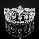 cheap Party Headpieces-Alloy Tiaras with Crystal / Rhinestone 1 Piece Wedding / Birthday Headpiece
