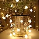 halpa LED-hehkulamput-usb 6m Garland Fairy johti pallo string valot vedenpitävä joulukuusi häät