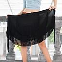 זול הלבשה לריקודים לטיניים-ריקוד לטיני חלקים תחתונים בגדי ריקוד נשים הצגה מילק פייבר פרנזים נפול חצאיות