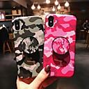 povoljno iPhone maske-Θήκη Za Apple iPhone XS / iPhone XR / iPhone XS Max sa stalkom / IMD / Mutno Stražnja maska Maskirni Mekano TPU